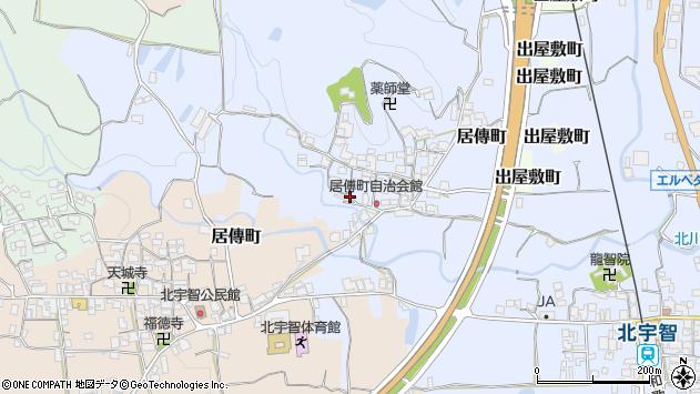 〒637-0013 奈良県五條市居伝町の地図