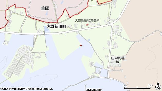 〒637-0015 奈良県五條市大野新田町の地図