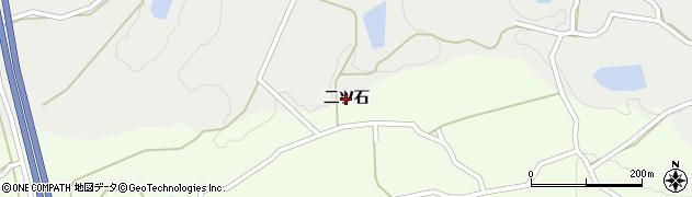 兵庫県洲本市中川原町(二ツ石)周辺の地図