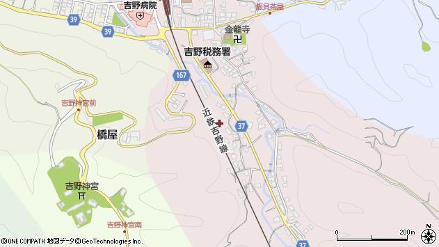 〒639-3114 奈良県吉野郡吉野町丹治の地図