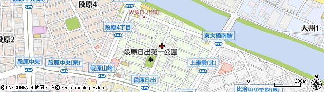広島県広島市南区段原日出周辺の地図