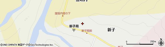 達中寺周辺の地図