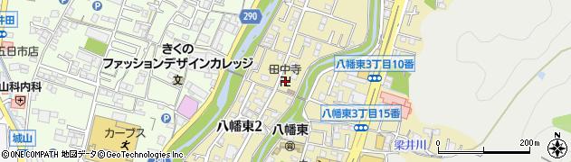田中寺周辺の地図