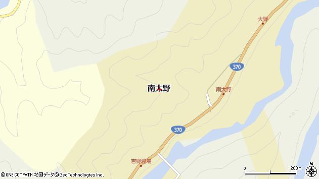 〒639-3437 奈良県吉野郡吉野町南大野の地図