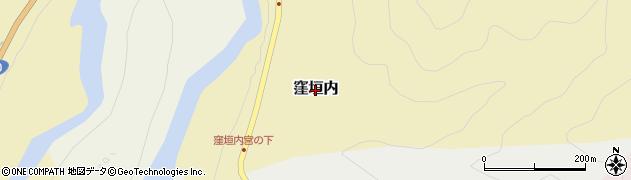 奈良県吉野町(吉野郡)窪垣内周辺の地図