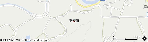 兵庫県洲本市安乎町(平安浦)周辺の地図