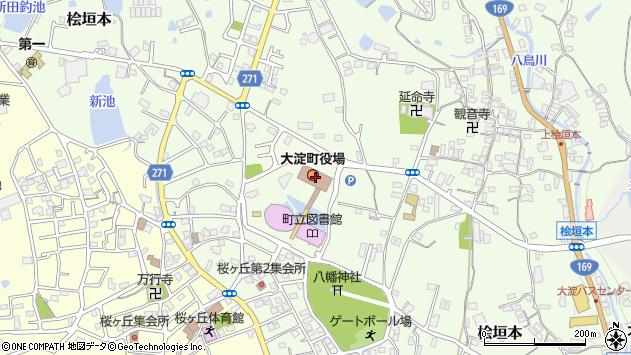 〒638-0000 奈良県吉野郡大淀町(以下に掲載がない場合)の地図