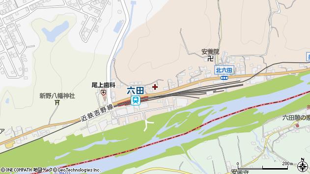 〒639-3124 奈良県吉野郡大淀町北六田の地図