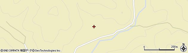 山口県萩市川上(中ノ原)周辺の地図