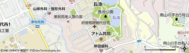 府営朝代住宅周辺の地図