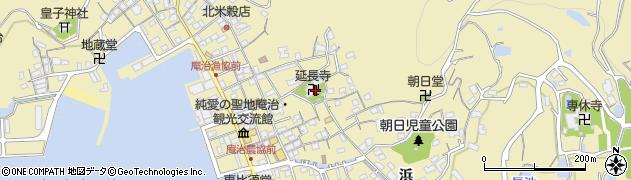延長寺周辺の地図