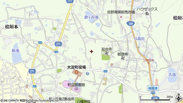 〒638-0812 奈良県吉野郡大淀町桧垣本の地図