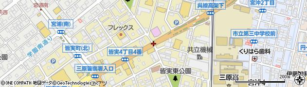 商工会議所入口周辺の地図