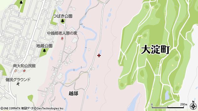 〒638-0803 奈良県吉野郡大淀町越部の地図