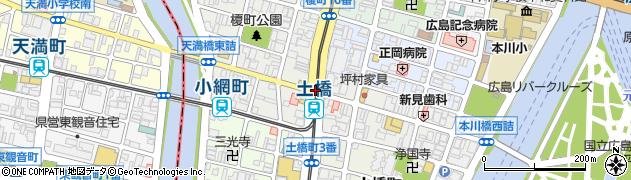 堺町2‐1周辺の地図