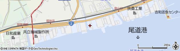 広島県尾道市正徳町周辺の地図