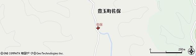 長崎県対馬市豊玉町佐保周辺の地図