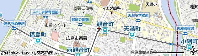 天満町周辺の地図