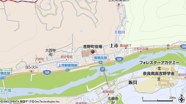 〒639-3100 奈良県吉野郡吉野町(以下に掲載がない場合)の地図
