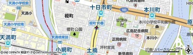 榎町10番周辺の地図