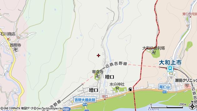 〒639-3123 奈良県吉野郡大淀町増口の地図