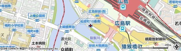 松原町10番南周辺の地図
