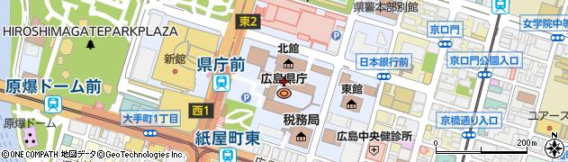 地図 広島 県