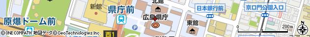 広島県周辺の地図