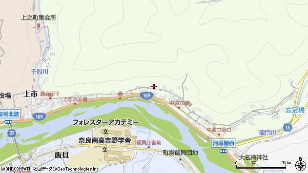 〒639-3112 奈良県吉野郡吉野町立野の地図