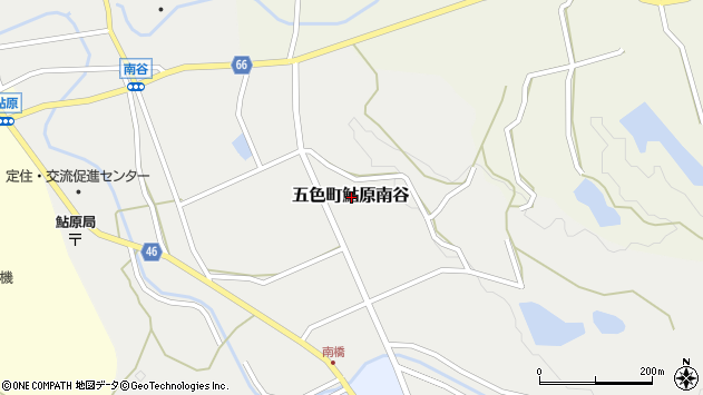 〒656-1325 兵庫県洲本市五色町鮎原南谷の地図