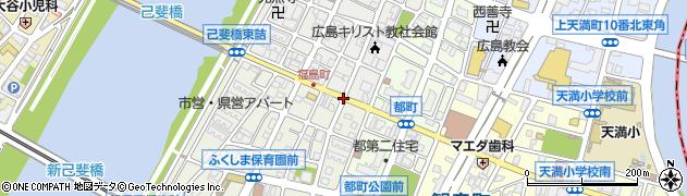 福島町交番周辺の地図