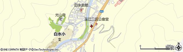 山口県萩市山田(玉江2区)周辺の地図