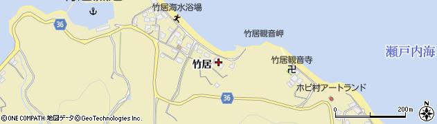 香川県高松市庵治町(竹居)周辺の地図