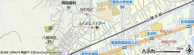 広島県尾道市東元町周辺の地図
