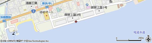 広島県尾道市新浜周辺の地図
