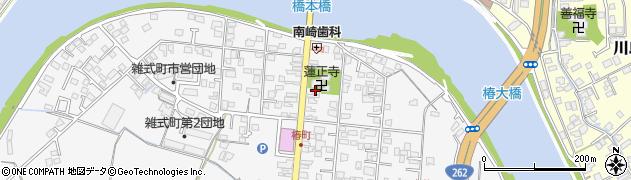 山口県萩市椿(椿町2区)周辺の地図