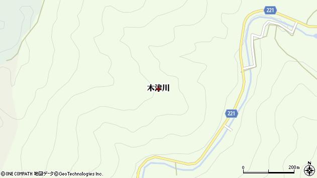 〒633-2432 奈良県吉野郡東吉野村木津川の地図
