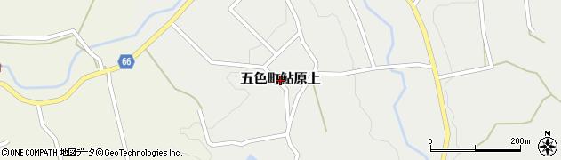 兵庫県洲本市五色町鮎原上周辺の地図