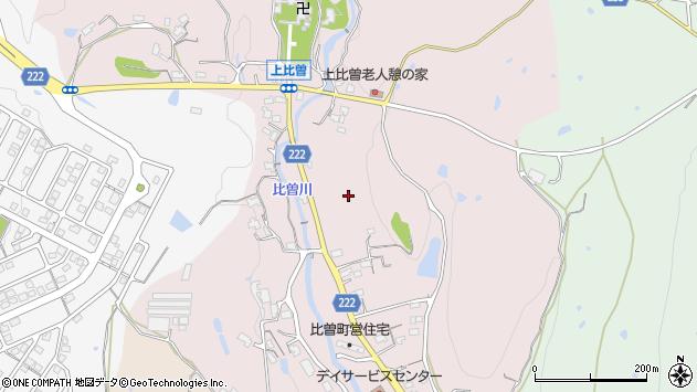 〒639-3128 奈良県吉野郡大淀町比曽の地図