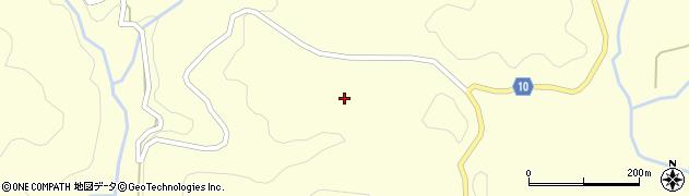 山口県萩市福井上(鶴ヶ谷)周辺の地図