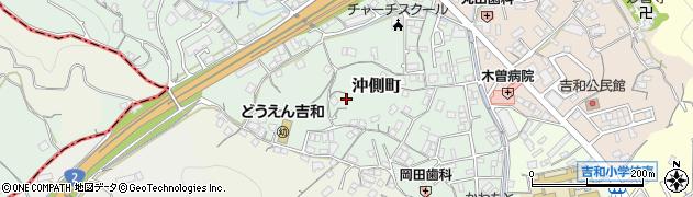 広島県尾道市沖側町周辺の地図