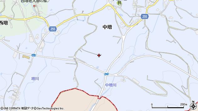 〒639-3122 奈良県吉野郡大淀町中増の地図