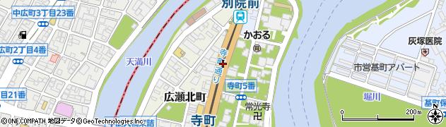 国道183号線周辺の地図
