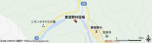 奈良県東吉野村(吉野郡)周辺の地図