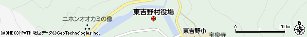 奈良県吉野郡東吉野村周辺の地図