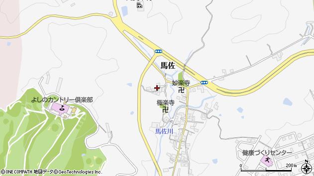 〒639-3127 奈良県吉野郡大淀町馬佐の地図