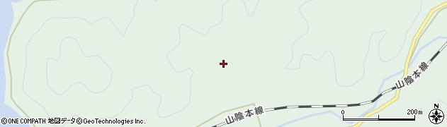 山口県萩市三見(三見河内)周辺の地図