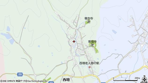 〒639-3121 奈良県吉野郡大淀町西増の地図