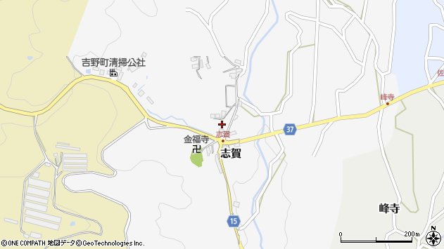 〒639-3106 奈良県吉野郡吉野町滝畑の地図