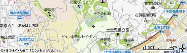 広島県尾道市西土堂町周辺の地図